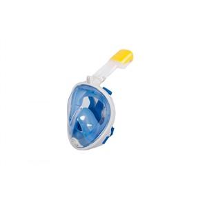 Полнолицевая маска для снорклинга, голубая L/XL