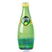Упаковка Perrier 0,33 лимон в стекле - 24 шт.