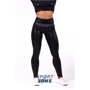 Ne High waist -Sandra D- glossy leggings цв.чёрный