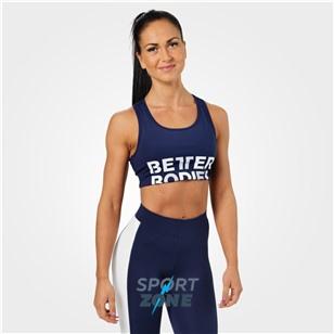 Спортивный топ Better Bodies Bowery Sports Bra, темно-синий