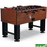 Weekend Настольный футбол (кикер) «Monaсo» (140x73x91см, коричневый, жетоноприемник), интернет-магазин товаров для бильярда Play-billiard.ru