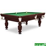 Weekend Бильярдный стол для русского бильярда «Нортон» 8 футов (махагон, под шар 60 мм), интернет-магазин товаров для бильярда Play-billiard.ru