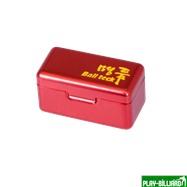 Ball Teck Мел «Ball teck PRO II» (2 шт, в красной металлической коробке) синий, интернет-магазин товаров для бильярда Play-billiard.ru. Фото 4