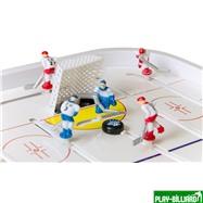 Red Machine Настольный хоккей «Юниор мини» (58.5 x 31 x 11.8 см, цветной), интернет-магазин товаров для бильярда Play-billiard.ru. Фото 6