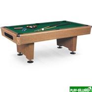 Weekend Бильярдный стол для пула «Eliminator» 8 ф (дуб) в комплекте, аксессуары + сукно, интернет-магазин товаров для бильярда Play-billiard.ru
