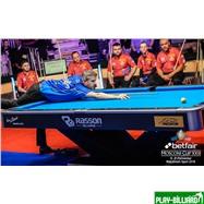 Weekend Бильярдный стол для пула «Victory II Plus» 9 ф (черный), интернет-магазин товаров для бильярда Play-billiard.ru. Фото 7