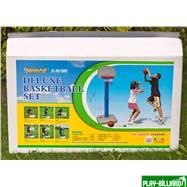 Баскетбольный щит на регулируемой опоре «Deluxe Basketball» (с мячом для мини-баскетбола), интернет-магазин товаров для бильярда Play-billiard.ru. Фото 10