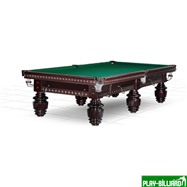 Weekend Бильярдный стол для снукера «Dynamic Turnus II» 10 ф (махагон), интернет-магазин товаров для бильярда Play-billiard.ru
