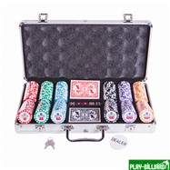 Набор для покера Premium Crown на 300 фишек, интернет-магазин товаров для бильярда Play-billiard.ru