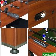 Weekend Настольный футбол (кикер) «Standart» (122x61x78.7 см, коричневый), интернет-магазин товаров для бильярда Play-billiard.ru. Фото 6