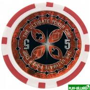 Набор для покера Ultimate на 300 фишек, интернет-магазин товаров для бильярда Play-billiard.ru. Фото 6