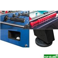 Weekend Настольный футбол (кикер) «Milan» (144 х 75,6, х 90 см, сине-черный), интернет-магазин товаров для бильярда Play-billiard.ru. Фото 5