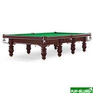 Бильярдный стол для снукера «Dynamic Prince» 12 ф (махагон), интернет-магазин товаров для бильярда Play-billiard.ru. Фото 1