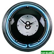 Weekend Часы настенные «Восьмерка» (неон) D35см, интернет-магазин товаров для бильярда Play-billiard.ru