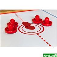 DBO Cтол-трансформер «Twister» 3 в 1  (бильярд, аэрохоккей, настольный теннис, 217 х 107,5 х 81 см, дуб), интернет-магазин товаров для бильярда Play-billiard.ru. Фото 10