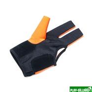 Ball Tek Перчатка бильярдная «K-1» (черно-оранжевая, вставка кожа), интернет-магазин товаров для бильярда Play-billiard.ru. Фото 2