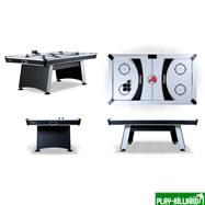 Atomic Аэрохоккей «Atomic Blazer» 7 ф (195 х 123 х 80 см, черный), интернет-магазин товаров для бильярда Play-billiard.ru. Фото 2