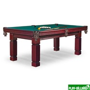 Weekend Бильярдный стол для пула «Texas» 7 ф (махагон) ЛДСП, интернет-магазин товаров для бильярда Play-billiard.ru