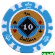 Набор для покера Crown на 500 фишек, интернет-магазин товаров для бильярда Play-billiard.ru. Фото 4