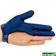 Longoni Перчатка бильярдная «RenzLine Bicolor» (серая), интернет-магазин товаров для бильярда Play-billiard.ru. Фото 2
