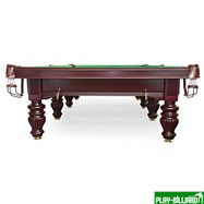 Бильярдный стол для снукера «Dynamic Prince» 12 ф (махагон), интернет-магазин товаров для бильярда Play-billiard.ru. Фото 2