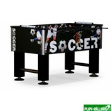 Weekend Настольный футбол (кикер) «Roma IV» (140x76x87 см, черный), интернет-магазин товаров для бильярда Play-billiard.ru