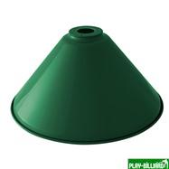 Плафон «Evergreen» (зеленый D35см), интернет-магазин товаров для бильярда Play-billiard.ru. Фото 1