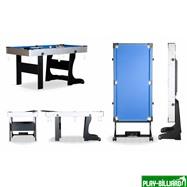 Weekend Складной бильярдный стол для пула «Team I» 5 ф (черный) ЛДСП, интернет-магазин товаров для бильярда Play-billiard.ru. Фото 2
