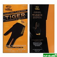 TIGER Перчатка бильярдная «Tiger» (черно-желтая) XL, интернет-магазин товаров для бильярда Play-billiard.ru. Фото 4