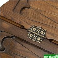 """Нарды резные """"Лев 3"""" с ручкой 60, Haleyan, интернет-магазин товаров для бильярда Play-billiard.ru. Фото 6"""