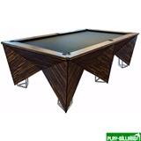 Weekend Бильярдный стол для русского бильярда «Hi-tech» 9 ф (венге), интернет-магазин товаров для бильярда Play-billiard.ru