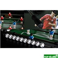 Weekend Настольный футбол (кикер) «Roma IV» (140x76x87 см, черный), интернет-магазин товаров для бильярда Play-billiard.ru. Фото 3