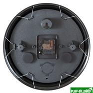 Weekend Часы настенные «12 шаров» D30 см (черные), металл, интернет-магазин товаров для бильярда Play-billiard.ru. Фото 8