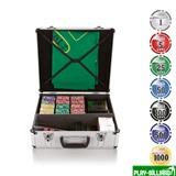 Набор для игры в покер и блэк-джек Nuts на 600 фишек, интернет-магазин товаров для бильярда Play-billiard.ru