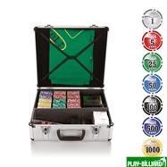 Набор для игры в покер и блэк-джек Nuts на 600 фишек, интернет-магазин товаров для бильярда Play-billiard.ru. Фото 1