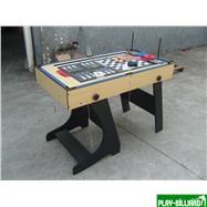 Многофункциональный игровой стол (119 х 61 х 81 см, светлый), интернет-магазин товаров для бильярда Play-billiard.ru. Фото 6