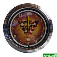 Weekend Часы настенные «NBU-1» (неон) D35см, интернет-магазин товаров для бильярда Play-billiard.ru