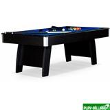 Weekend Бильярдный стол для пула «Riga» 8 ф (черный) ЛДСП в комплекте аксессуары, интернет-магазин товаров для бильярда Play-billiard.ru