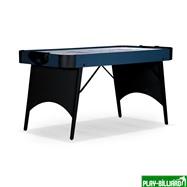 Weekend Аэрохоккей «Blue Ice» 5 ф (152 х 76 х 80,5 см, черно-голубой, складной), интернет-магазин товаров для бильярда Play-billiard.ru. Фото 1