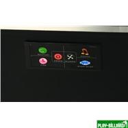 Atomic Аэрохоккей «Atomic AH800» 8 ф (244 х 127 х 81 см, черный), интернет-магазин товаров для бильярда Play-billiard.ru. Фото 3