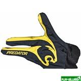 Predator Перчатка бильярдная «Predator Limited Edition» (черно-желтая) L&XL, интернет-магазин товаров для бильярда Play-billiard.ru