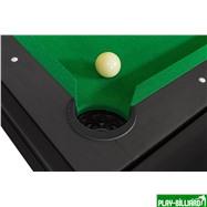 DBO Cтол-трансформер «Twister» 3 в 1 (бильярд, аэрохоккей, настольный теннис, 217 х 107,5 х 81 см, черный), интернет-магазин товаров для бильярда Play-billiard.ru. Фото 6