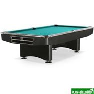 Weekend Бильярдный стол для пула «Competition» 9 ф (матово-чёрный) в комплекте, аксессуары + сукно, интернет-магазин товаров для бильярда Play-billiard.ru