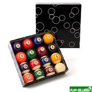 Weekend Комплект шаров 38 мм «Classic A-Quality» (пул), интернет-магазин товаров для бильярда Play-billiard.ru. Фото 1