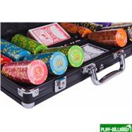Набор для покера Compas на 300 фишек, интернет-магазин товаров для бильярда Play-billiard.ru. Фото 2