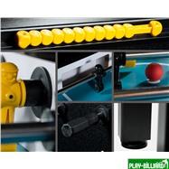 Weekend Настольный футбол (кикер) «Marsel» (144x76x90см, черный), интернет-магазин товаров для бильярда Play-billiard.ru. Фото 3