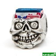 Weekend Пенал для мела «Peweter», череп, интернет-магазин товаров для бильярда Play-billiard.ru. Фото 2