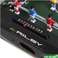 Riley Настольный футбол (кикер) «Riley» (46х30х10 см, черный), интернет-магазин товаров для бильярда Play-billiard.ru. Фото 5