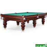 Weekend Бильярдный стол для русского бильярда «Turin» 9 ф (вишня, 6 ног, плита 38мм), интернет-магазин товаров для бильярда Play-billiard.ru