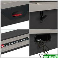 DBO Многофункциональный игровой стол 6 в 1 «Tornado» (темно-серый), интернет-магазин товаров для бильярда Play-billiard.ru. Фото 6